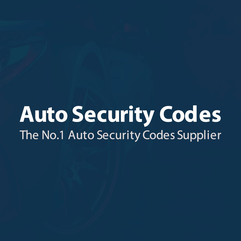 Auto Security Codes